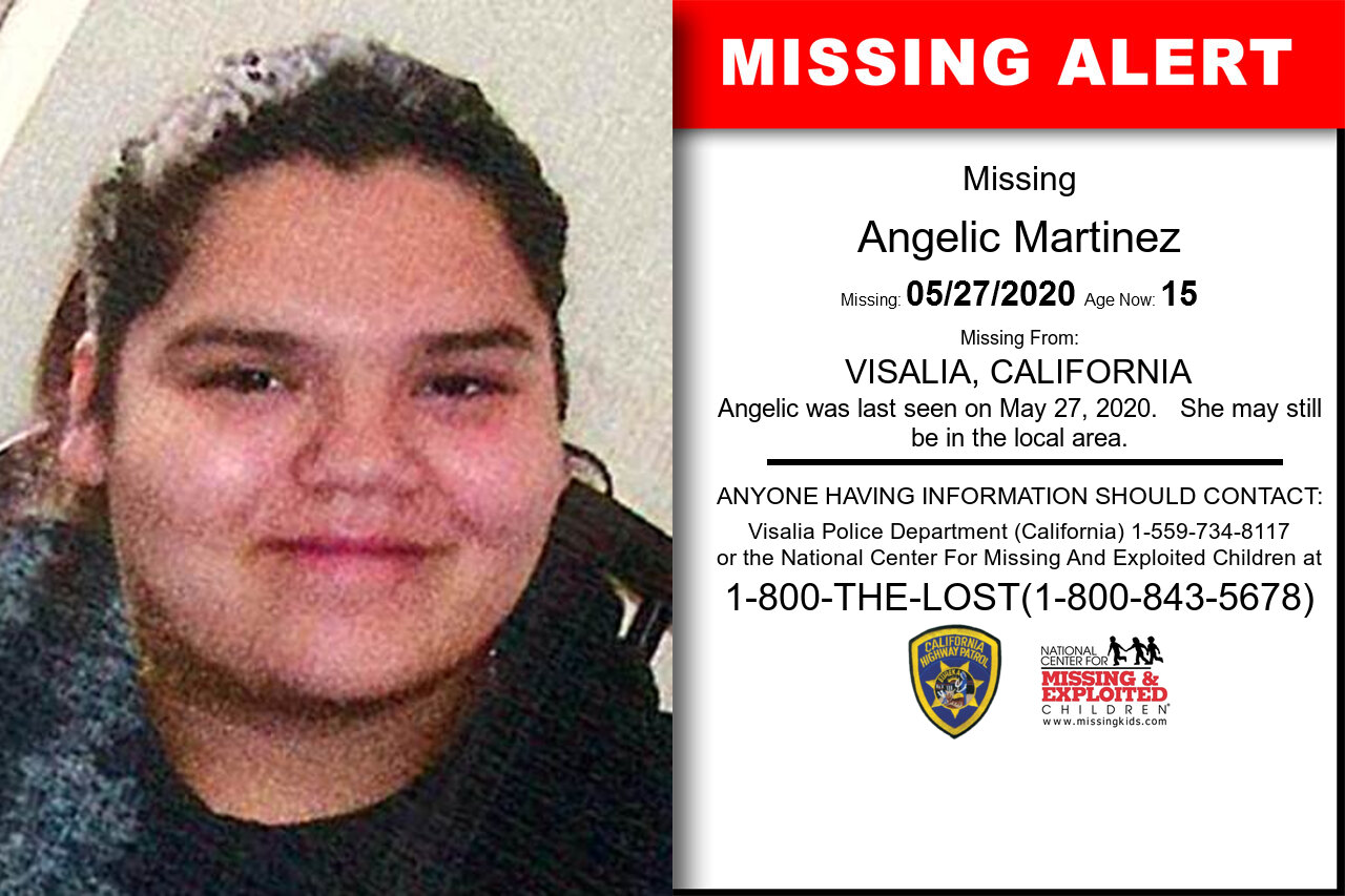Angelic_Martinez missing in California