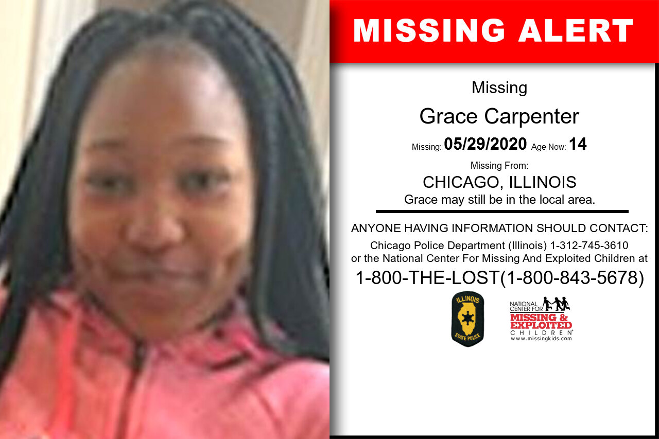 Grace_Carpenter missing in Illinois
