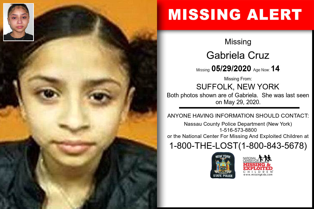Gabriela_Cruz missing in New_York