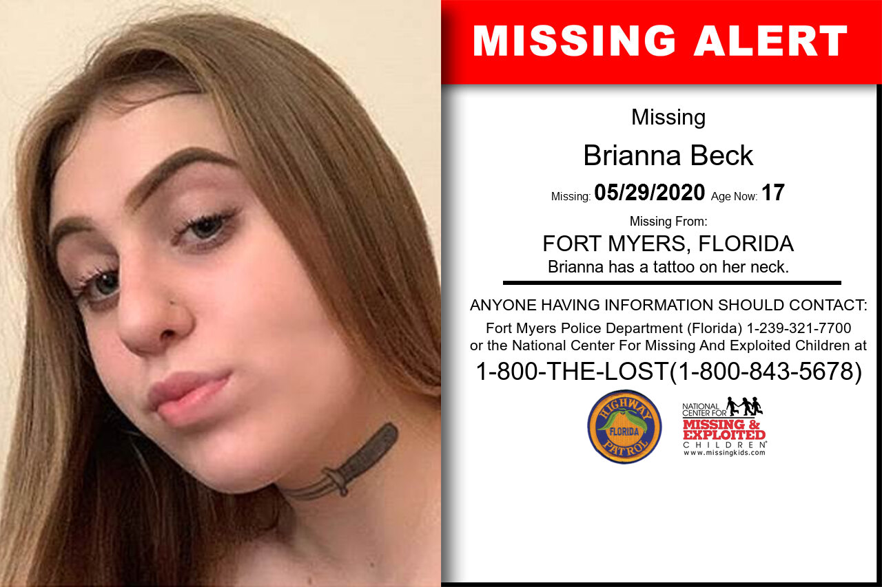 Brianna_Beck missing in Florida