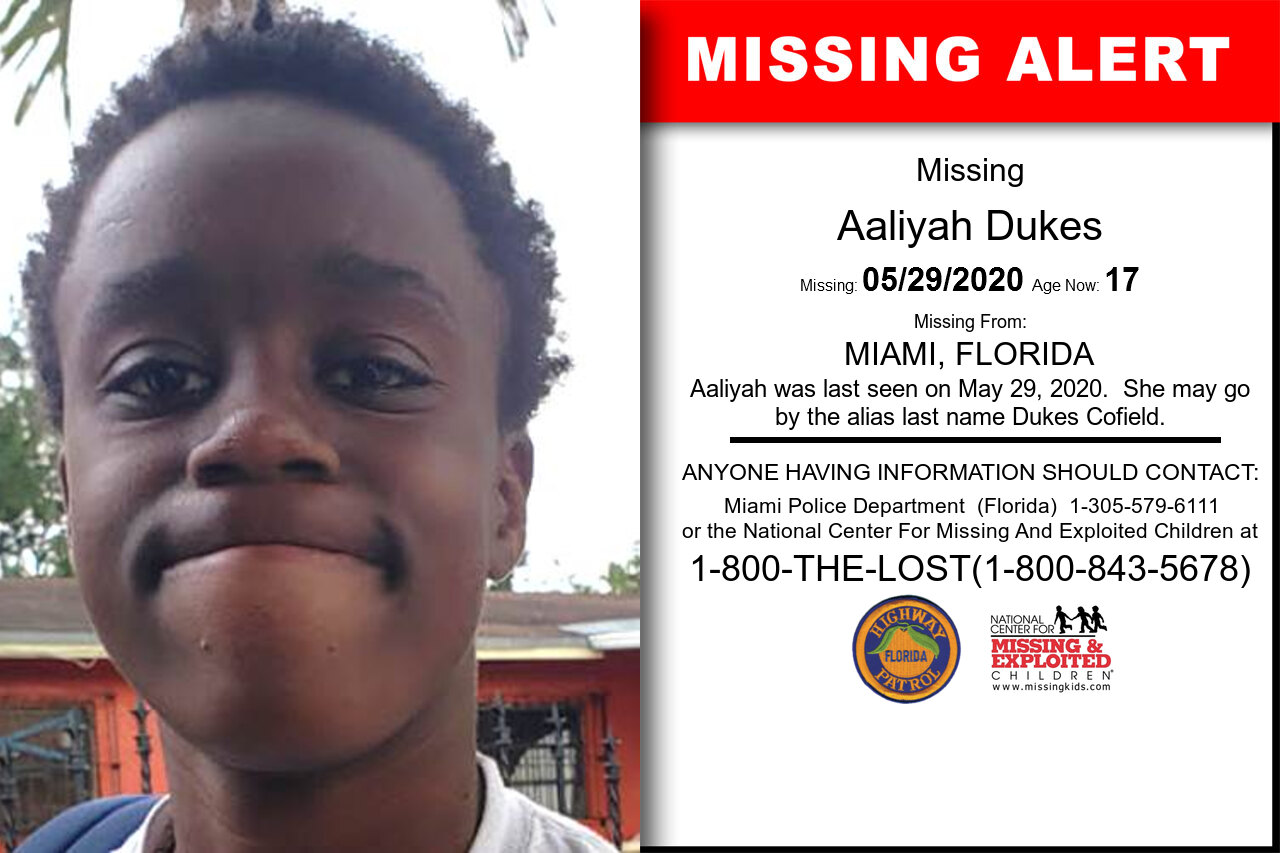 Aaliyah_Dukes missing in Florida