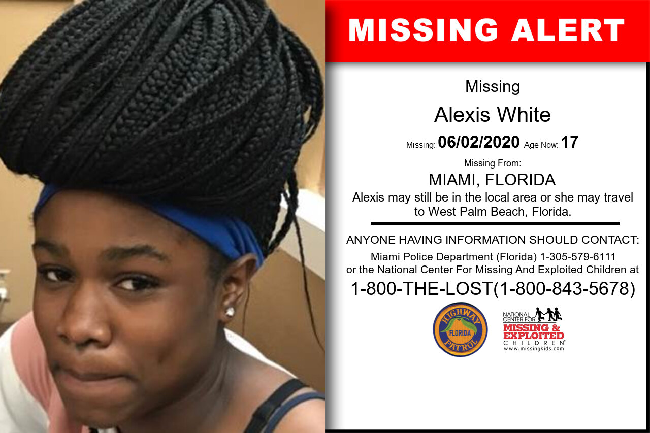 Alexis_White missing in Florida