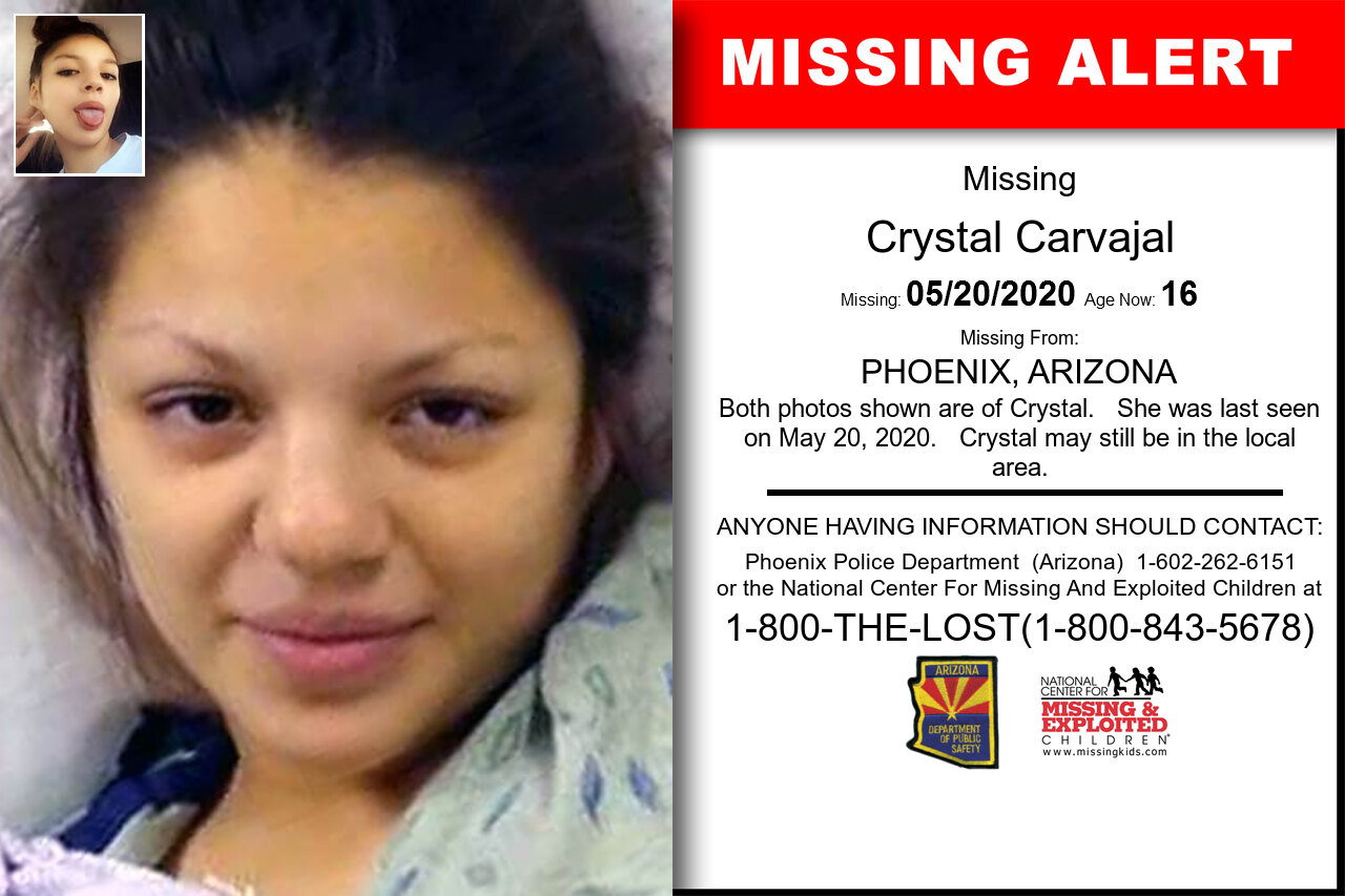 Crystal_Carvajal missing in Arizona