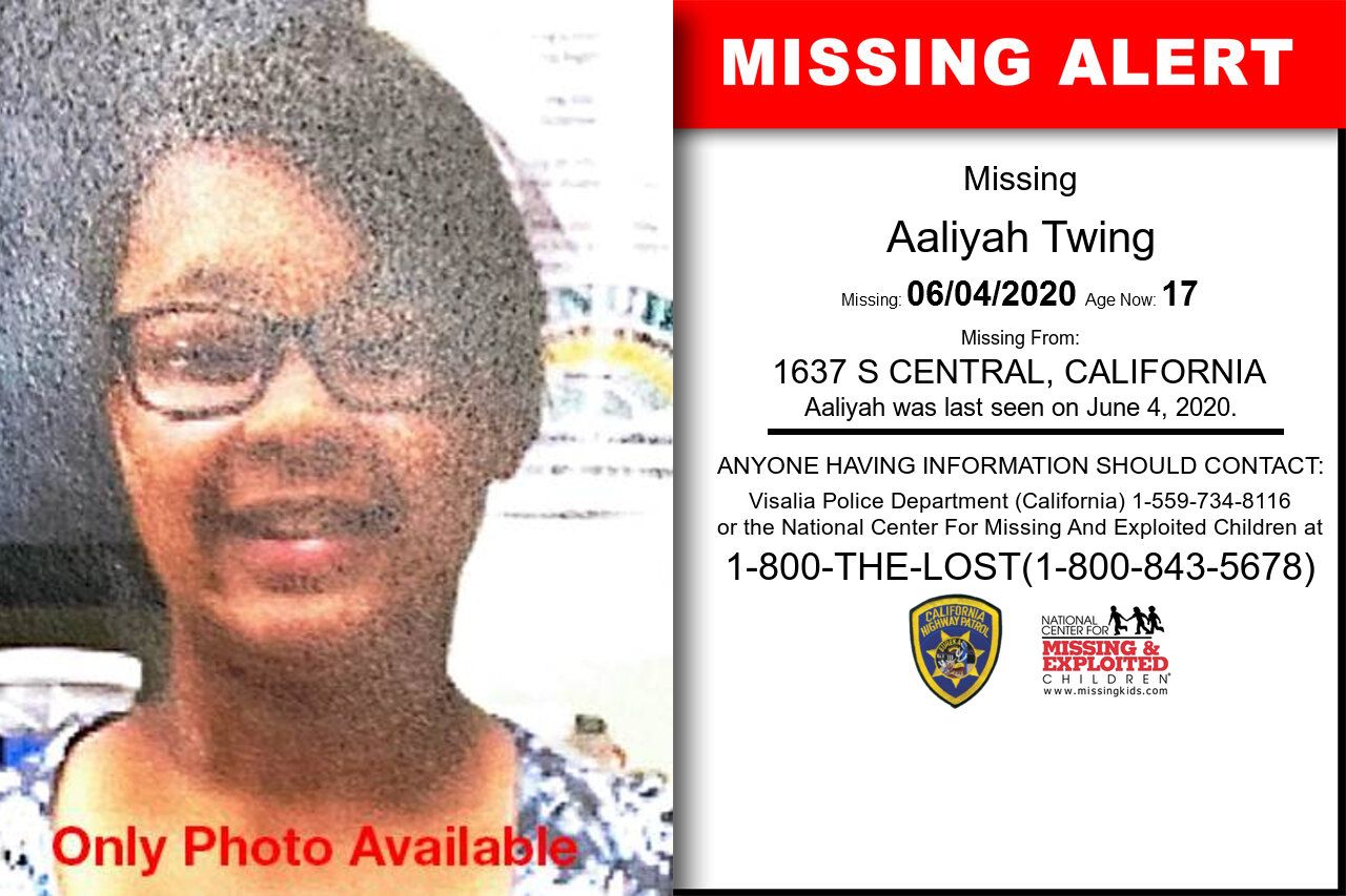 Aaliyah_Twing missing in California