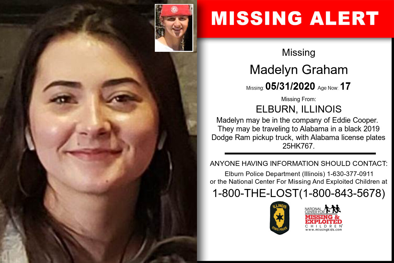 Madelyn_Graham missing in Illinois