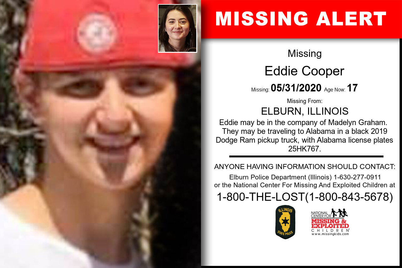 Eddie_Cooper missing in Illinois