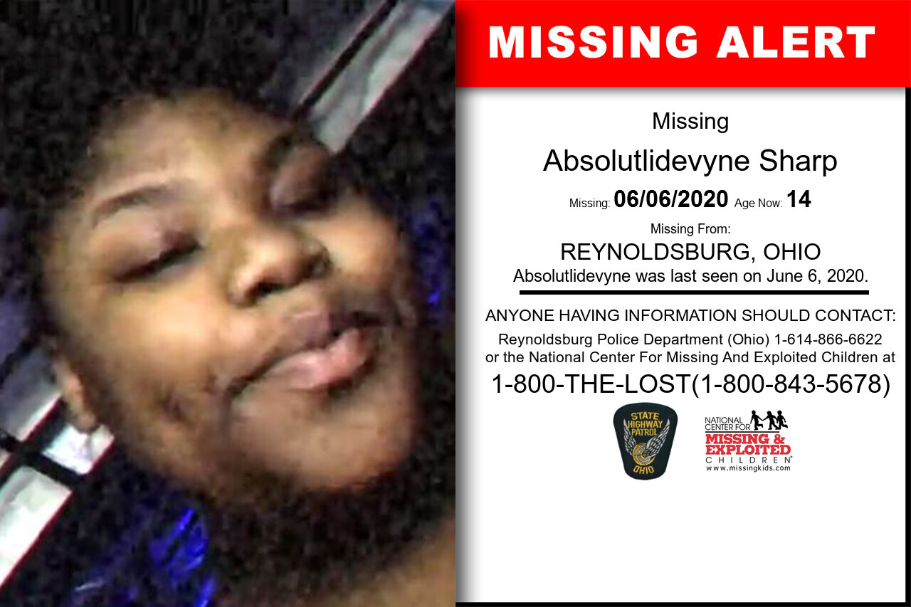 Absolutlidevyne_Sharp missing in Ohio