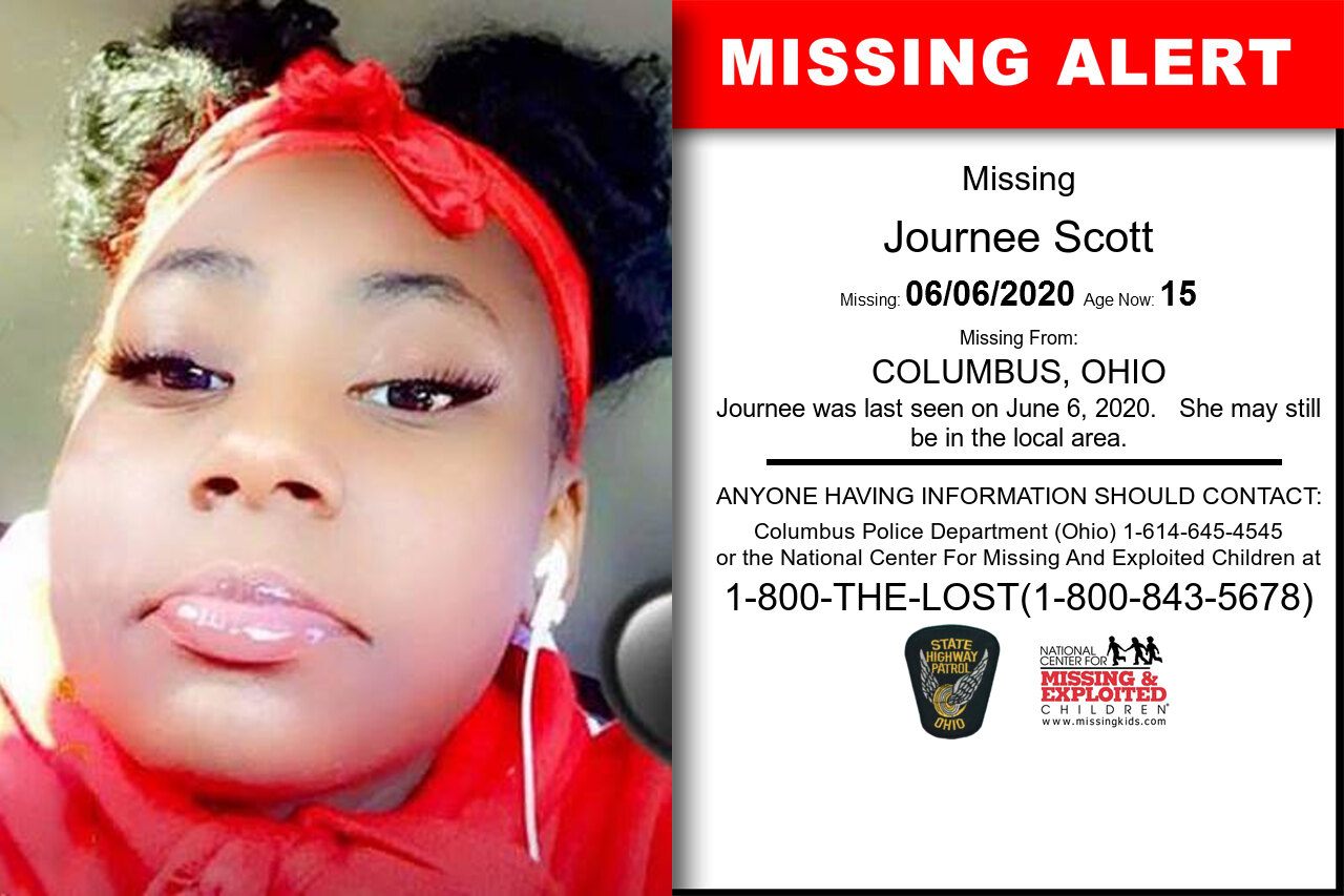 Journee_Scott missing in Ohio