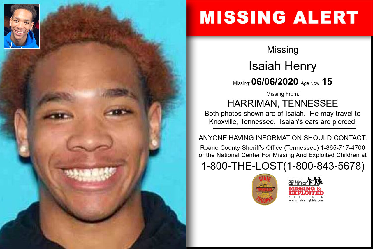 Isaiah_Henry missing in Tennessee
