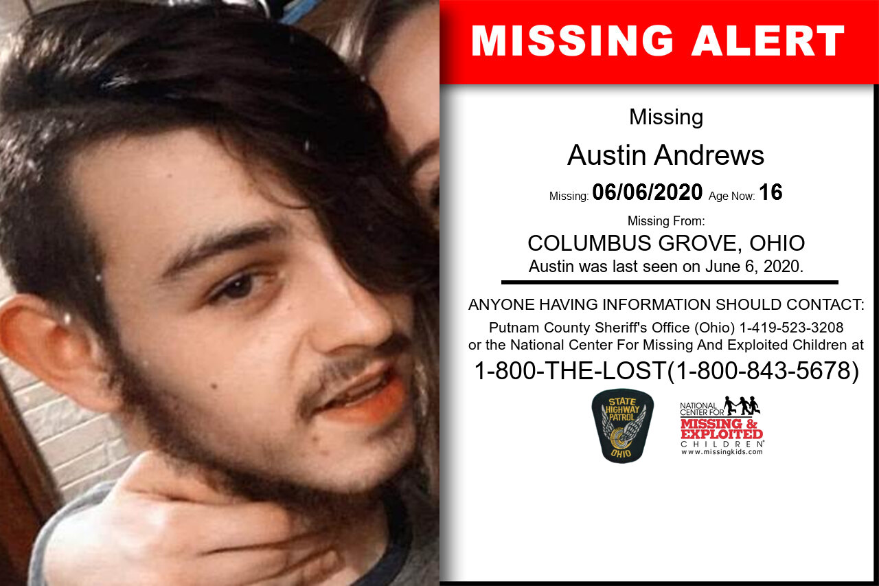Austin_Andrews missing in Ohio