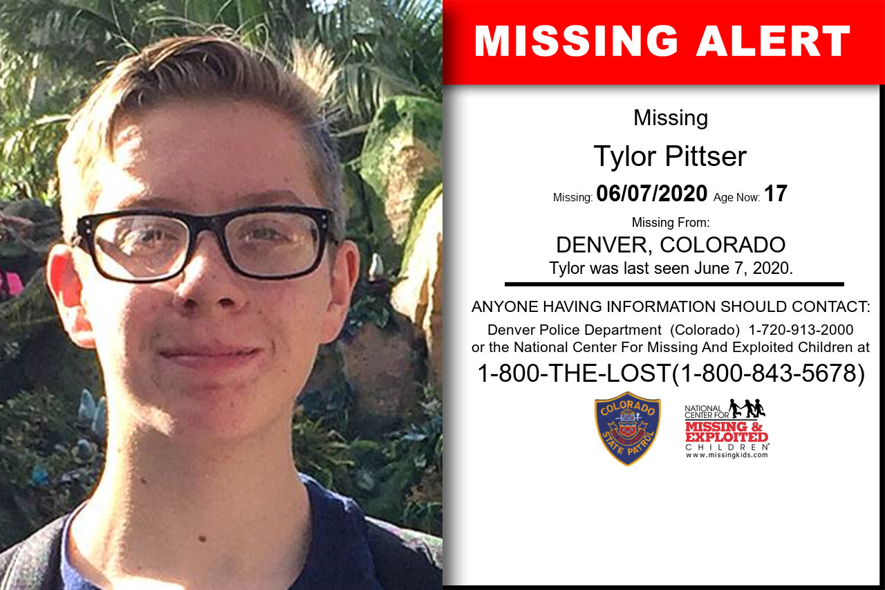 Tylor_Pittser missing in Colorado
