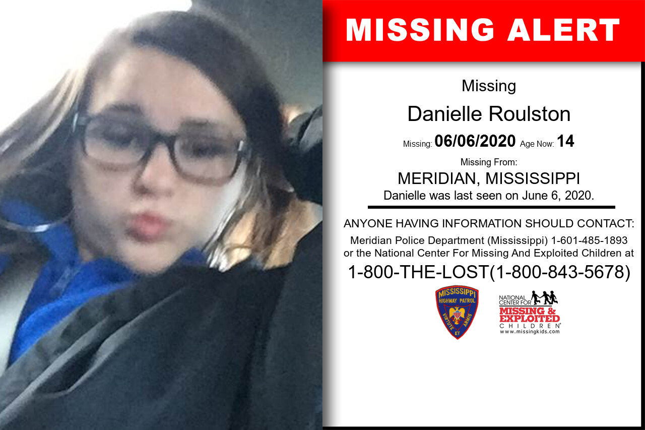 Danielle_Roulston missing in Mississippi