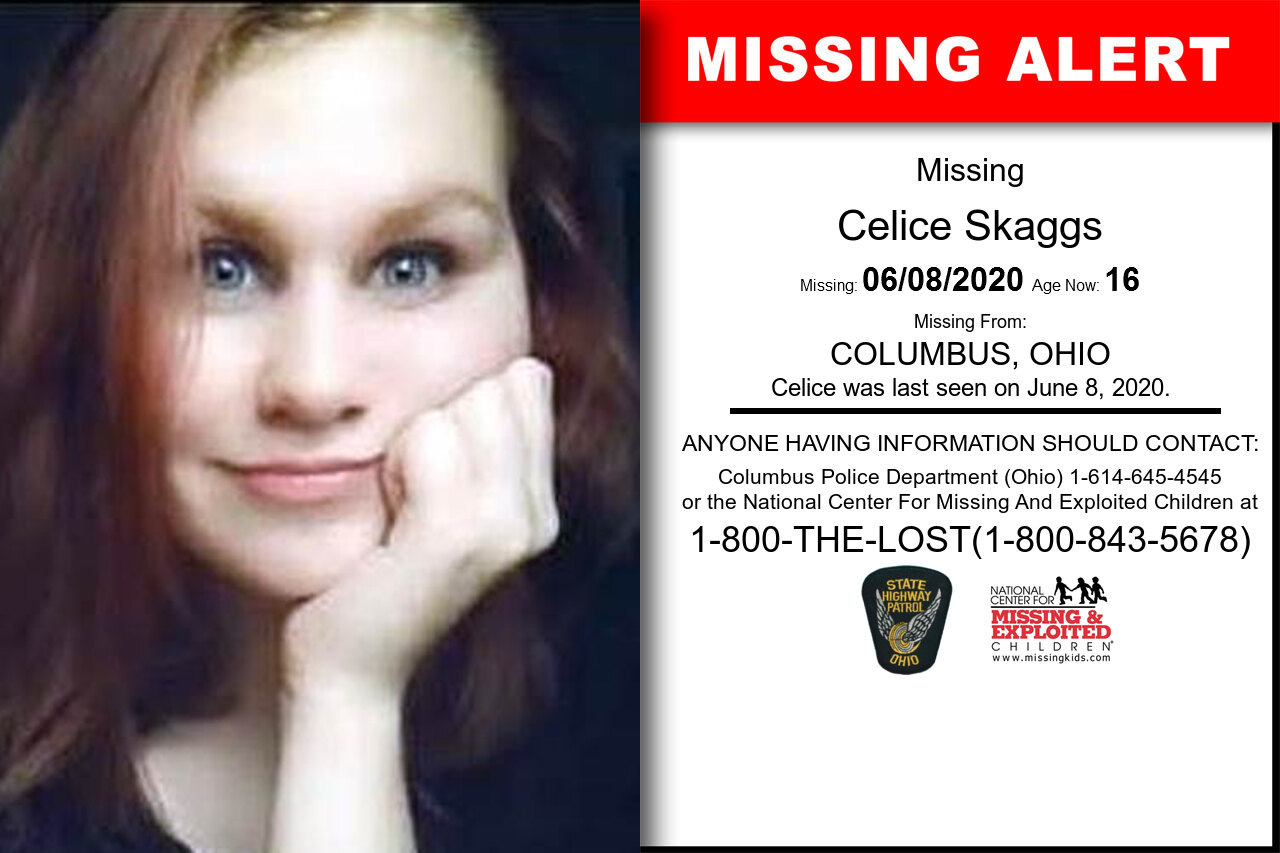 Celice_Skaggs missing in Ohio