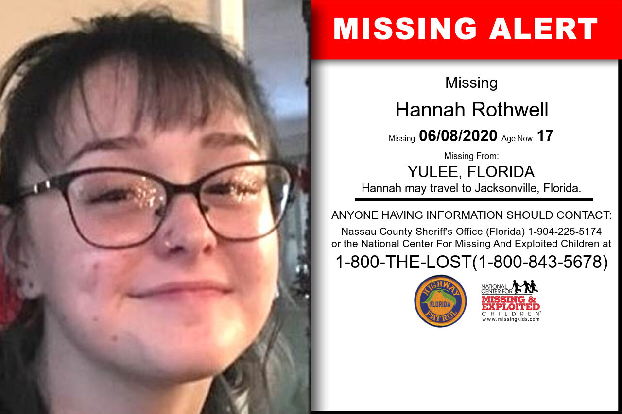 Hannah_Rothwell missing in Florida