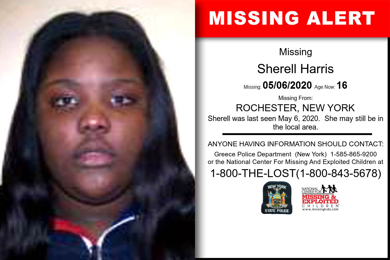 Sherell_Harris missing in New_York