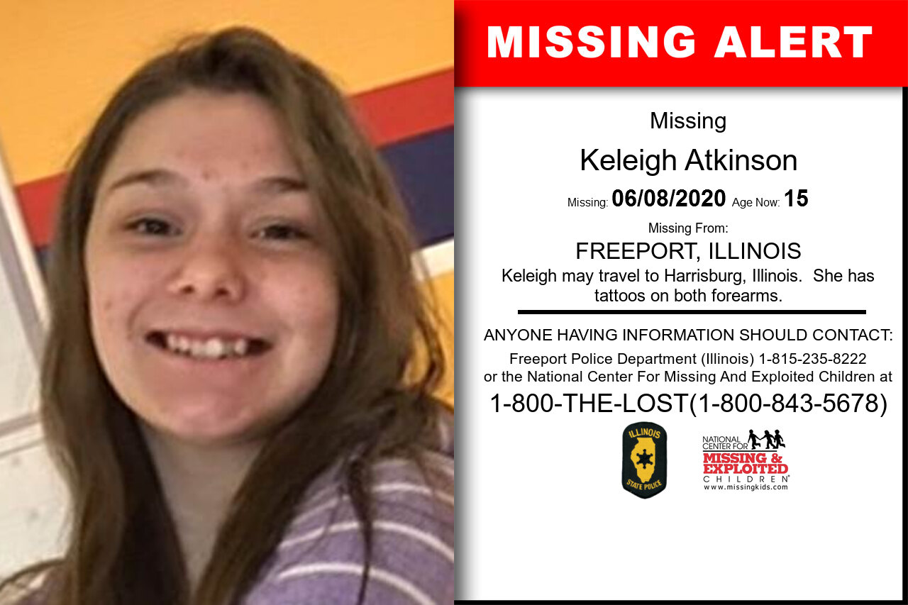 Keleigh_Atkinson missing in Illinois