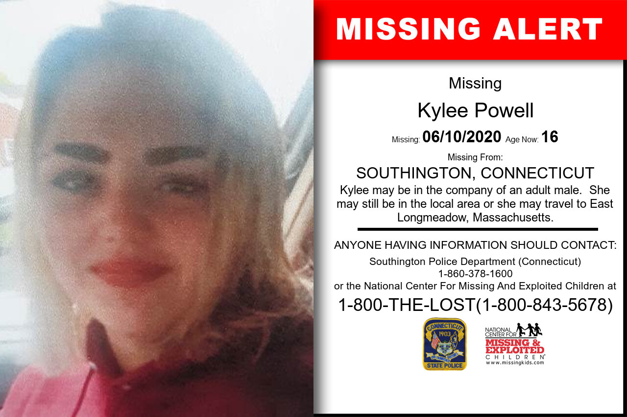 Kylee_Powell missing in Connecticut