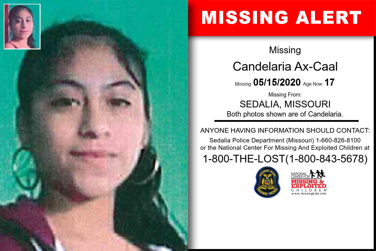 Candelaria_Ax-Caal missing in Missouri
