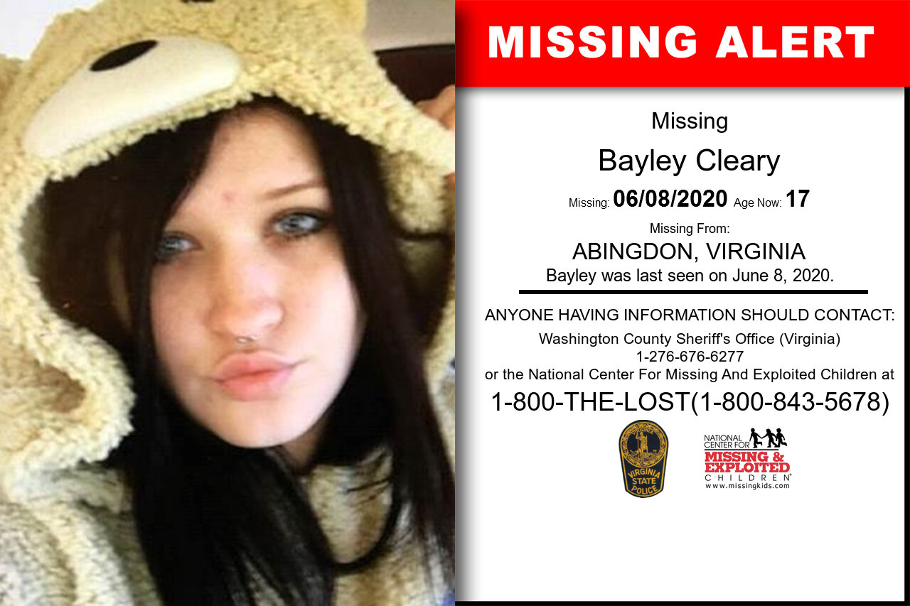 Bayley_Cleary missing in Virginia