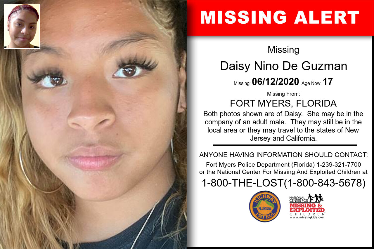 Daisy_Nino_De_Guzman missing in Florida