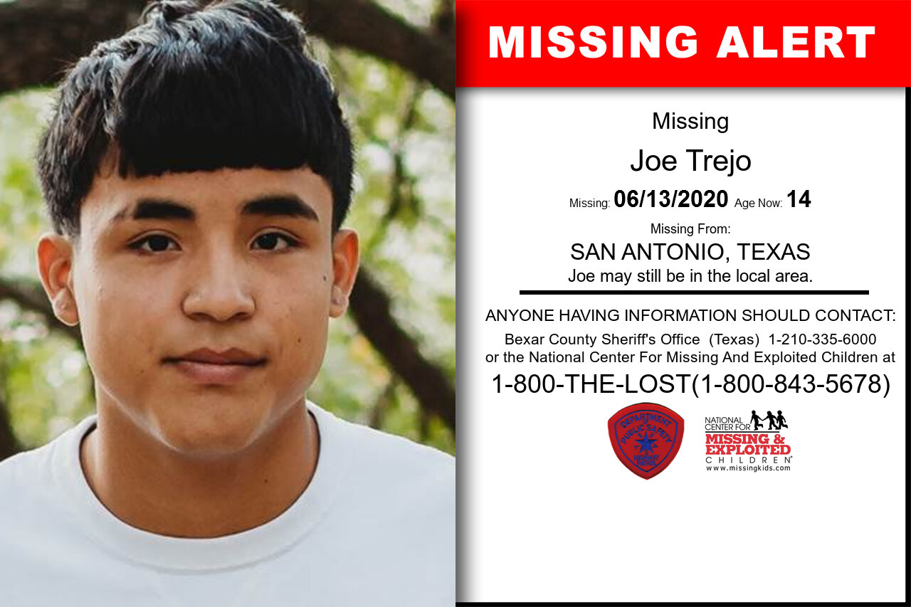 Joe_Trejo missing in Texas