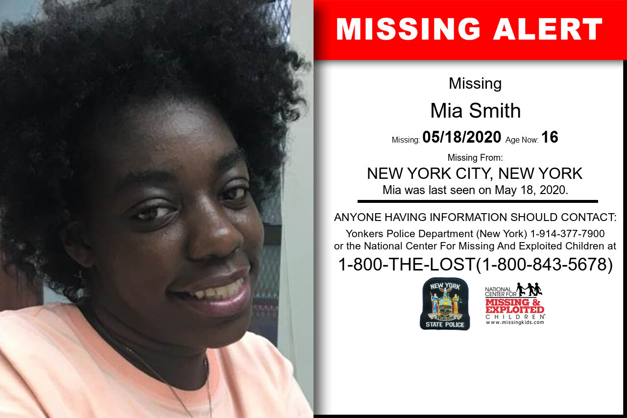 Mia_Smith missing in New_York