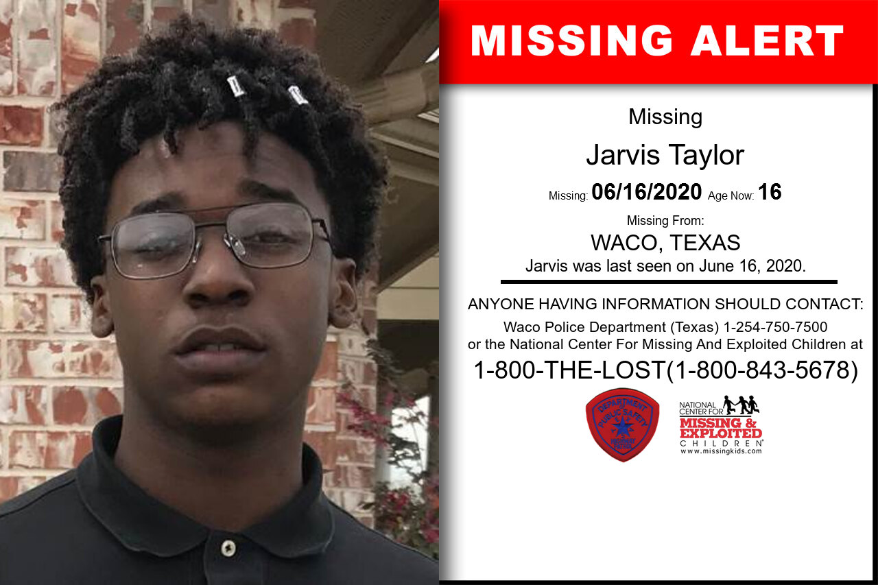 Jarvis_Taylor missing in Texas
