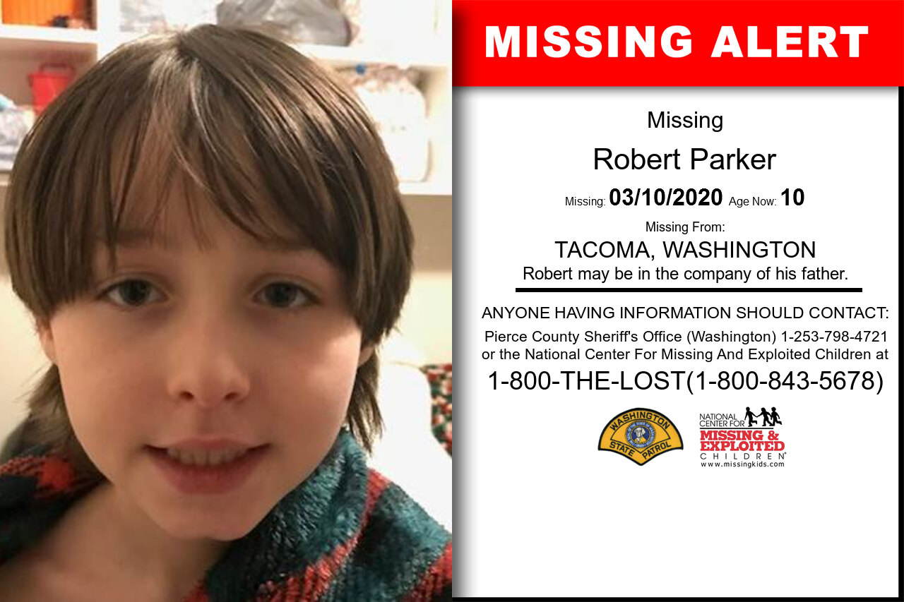 Robert_Parker missing in Washington