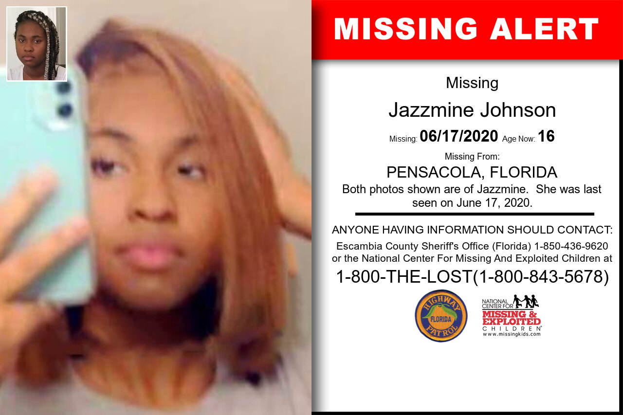 Jazzmine_Johnson missing in Florida