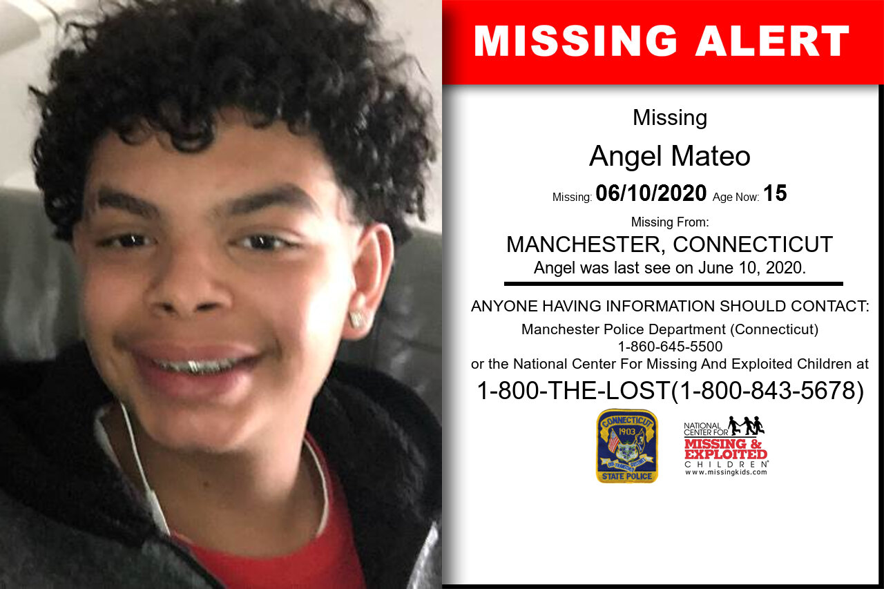 Angel_Mateo missing in Connecticut