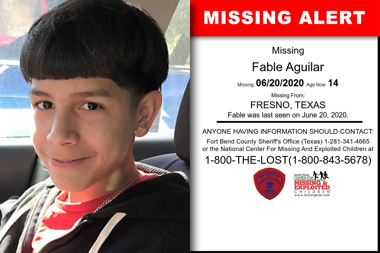 Fable_Aguilar missing in Texas