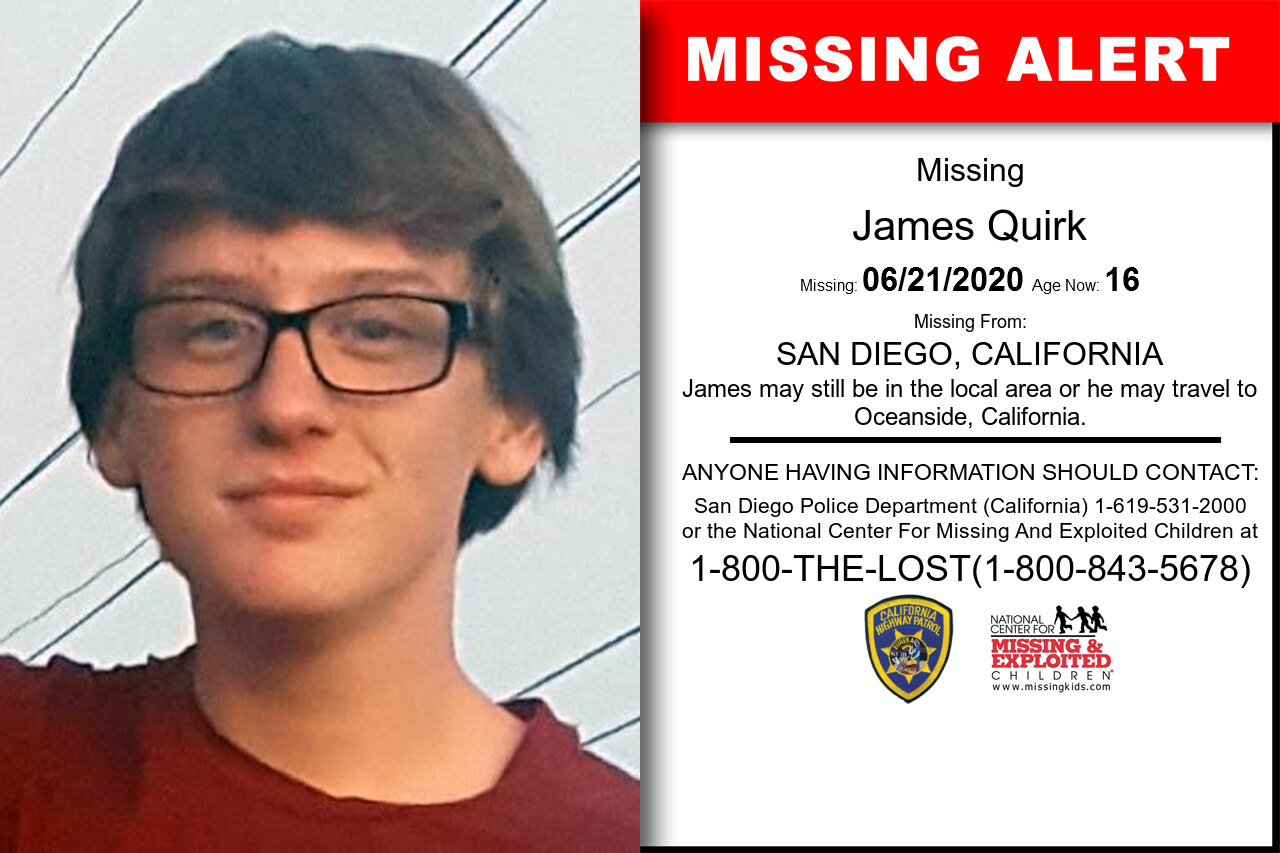 James_Quirk missing in California