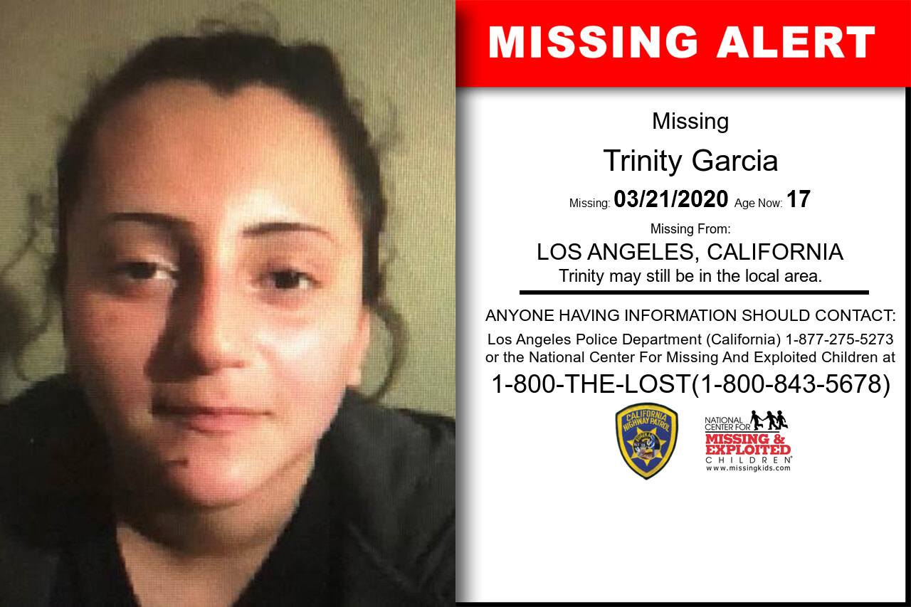 Trinity_Garcia missing in California