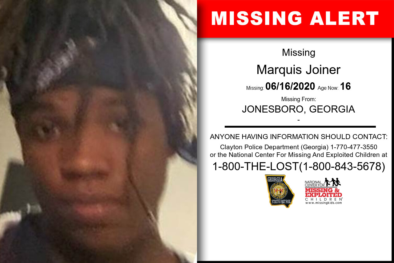 Marquis_Joiner missing in Georgia