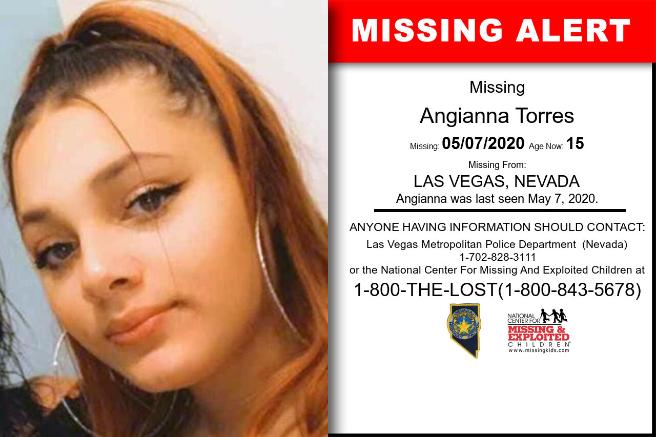Angianna_Torres missing in Nevada