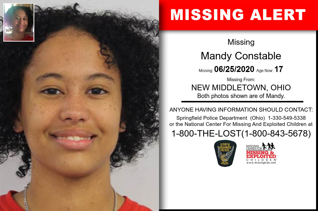 Mandy_Constable missing in Ohio