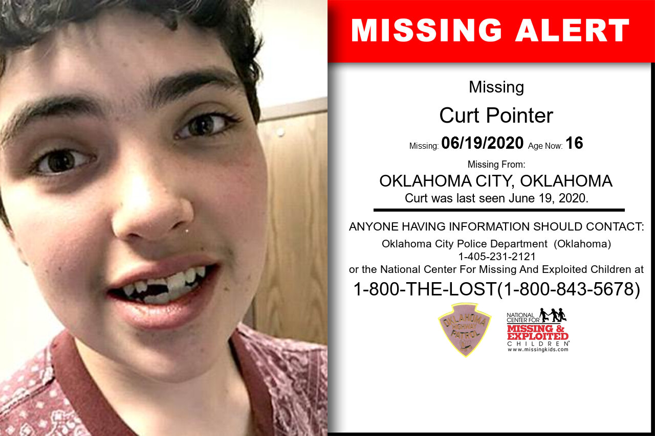 Curt_Pointer missing in Oklahoma