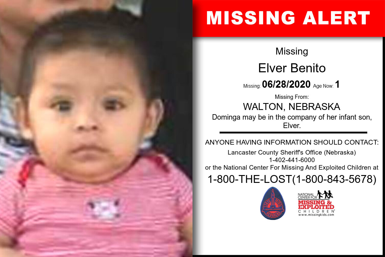 Elver_Benito missing in Nebraska