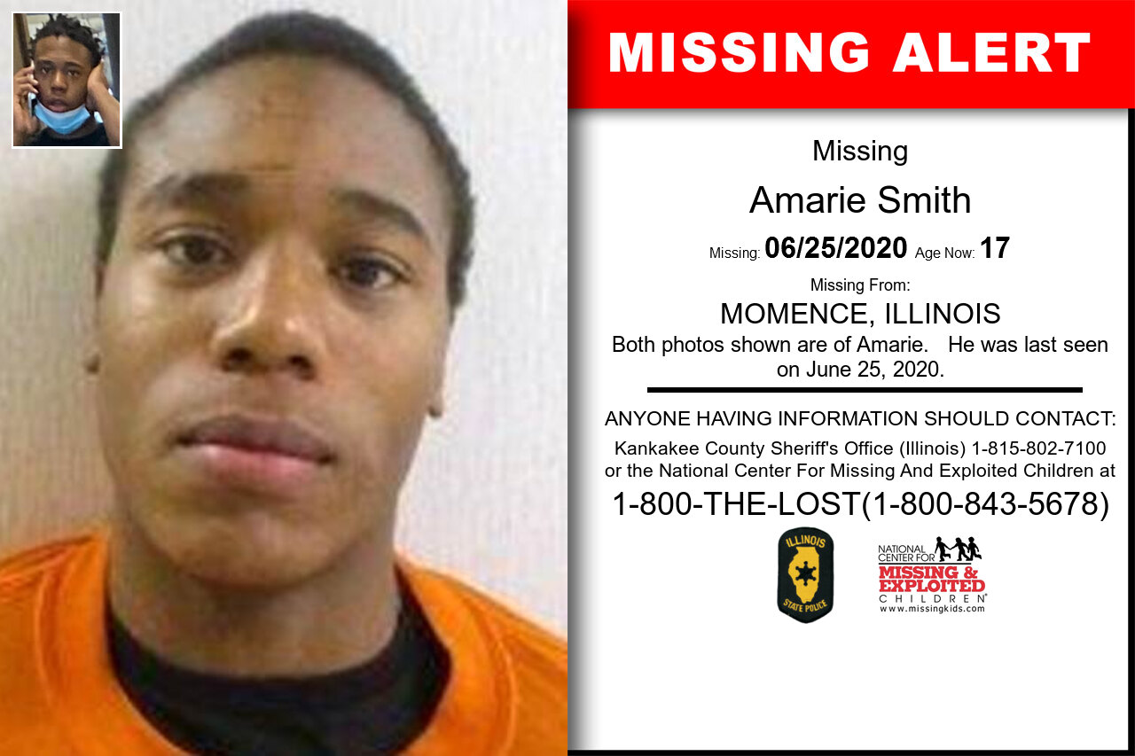 Amarie_Smith missing in Illinois