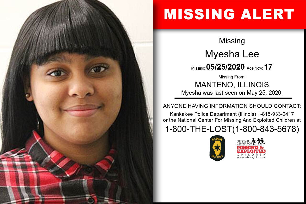 Myesha_Lee missing in Illinois