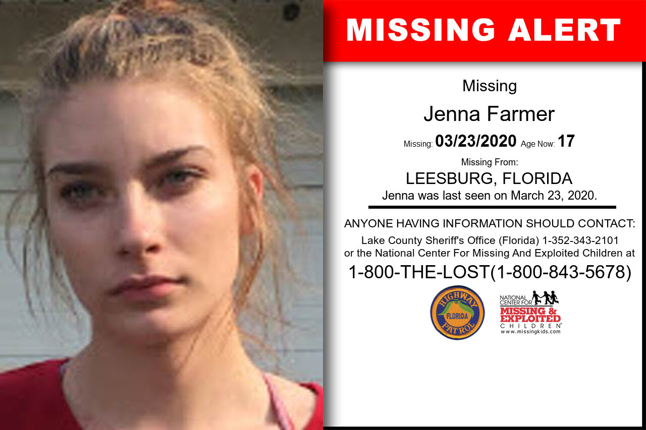 Jenna_Farmer missing in Florida