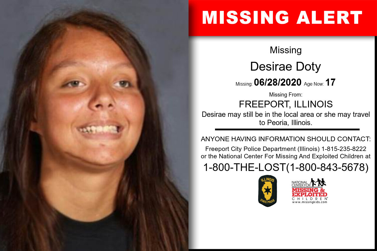 Desirae_Doty missing in Illinois