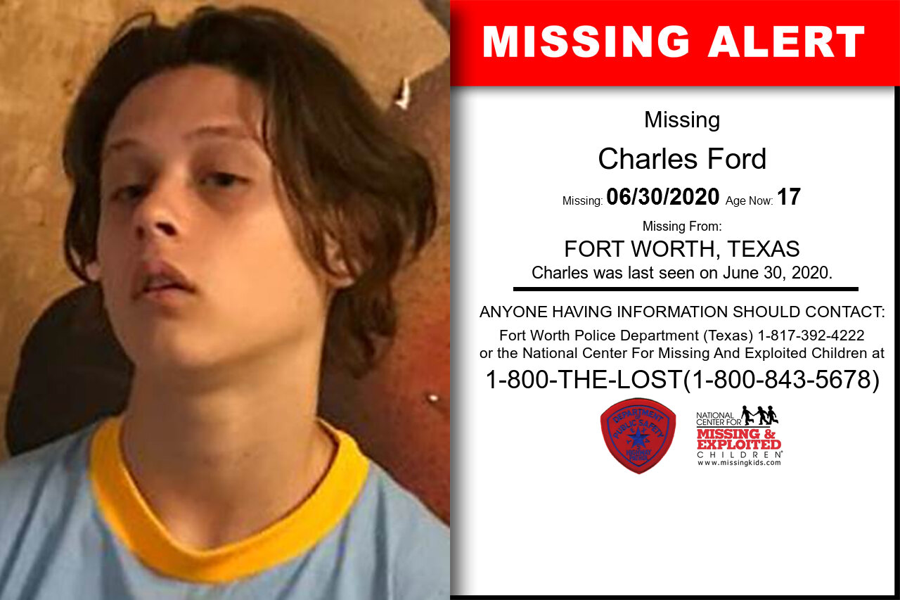 Charles_Ford missing in Texas