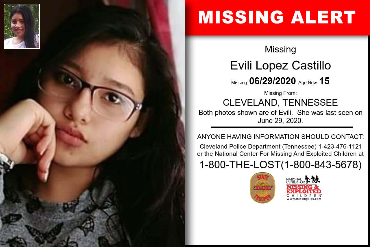 Evili_Lopez_Castillo missing in Tennessee