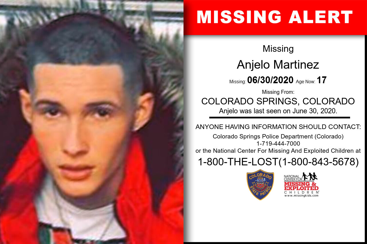Anjelo_Martinez missing in Colorado