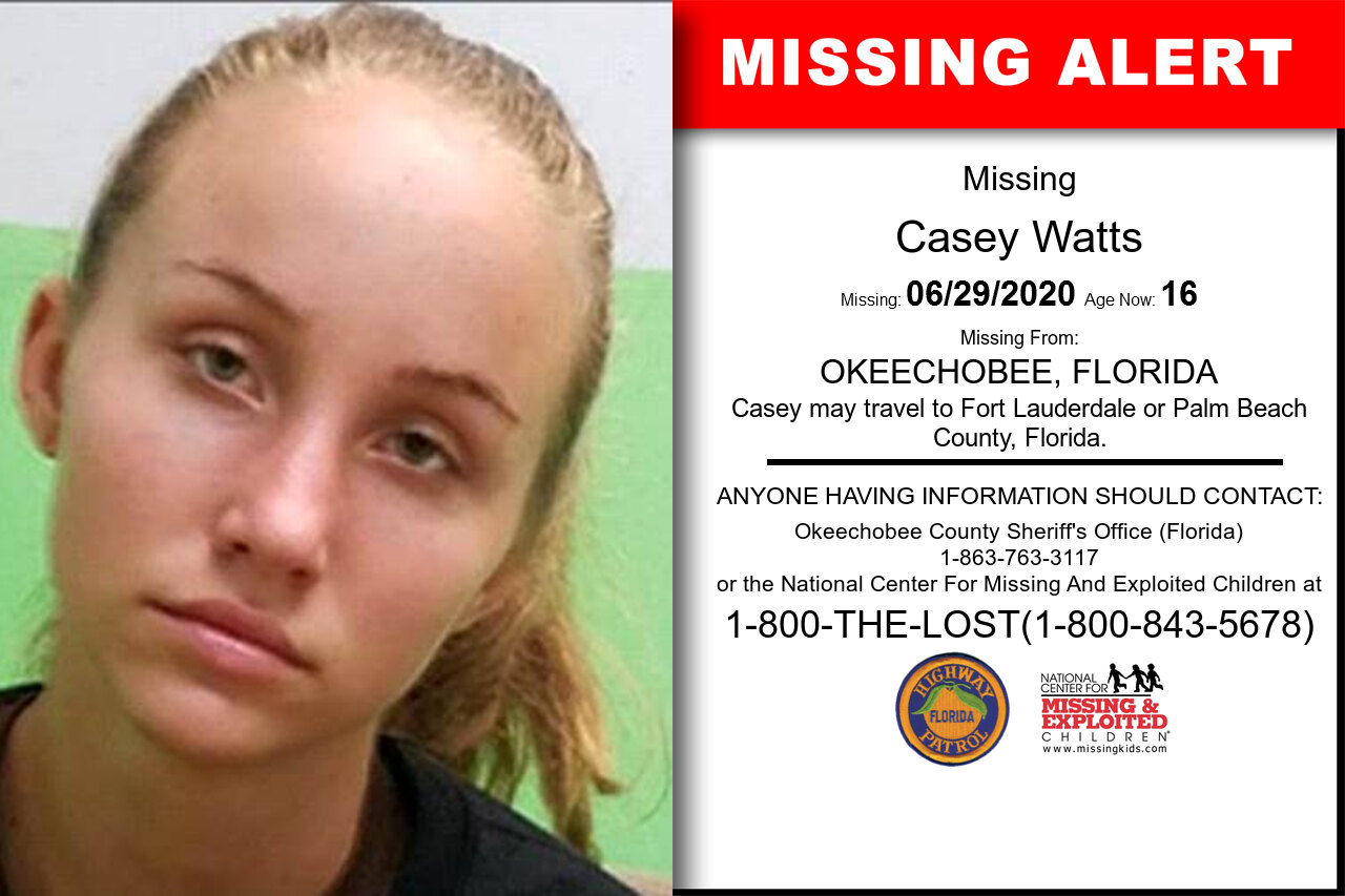 Casey_Watts missing in Florida
