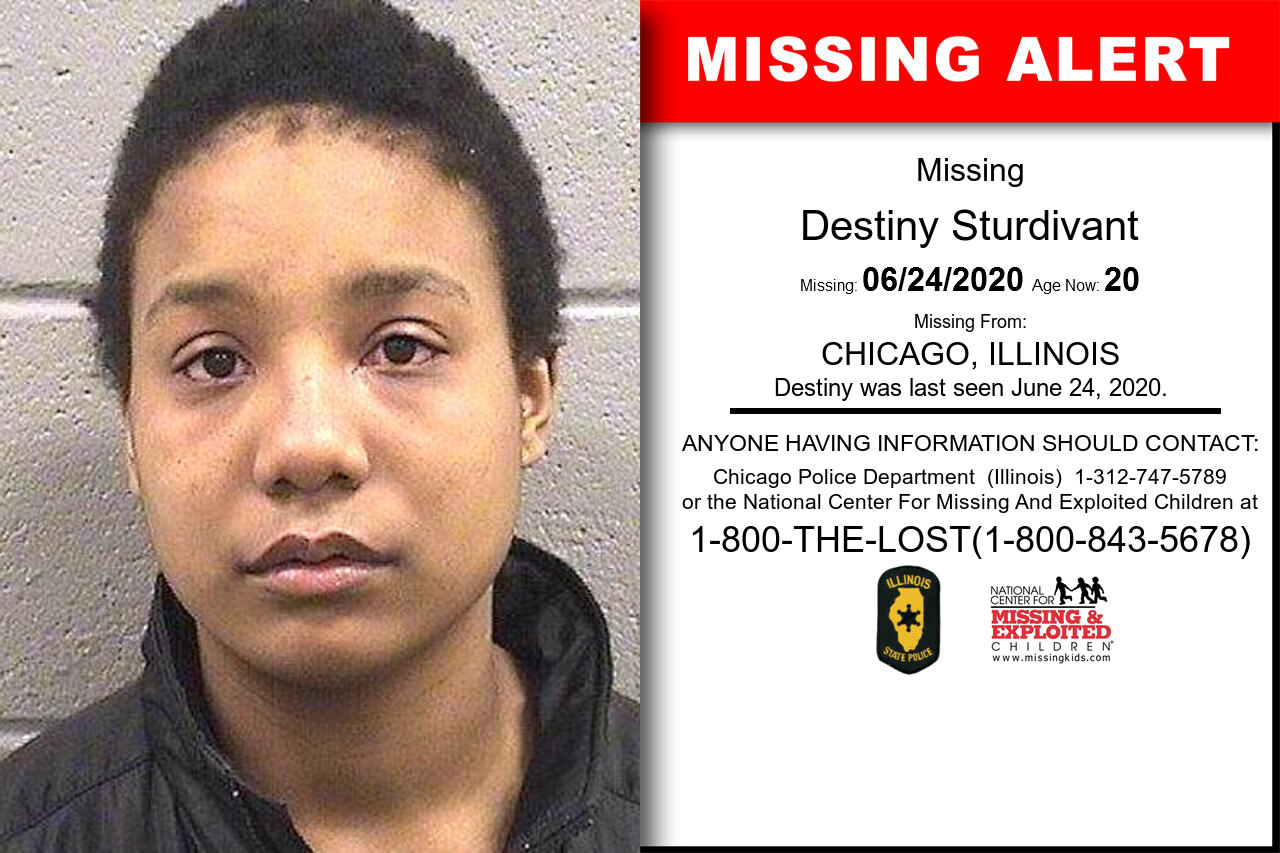 Destiny_Sturdivant missing in Illinois
