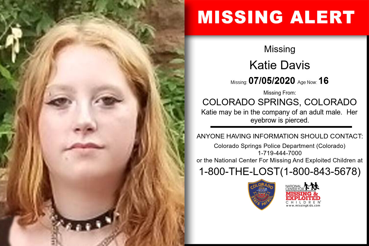 Katie_Davis missing in Colorado