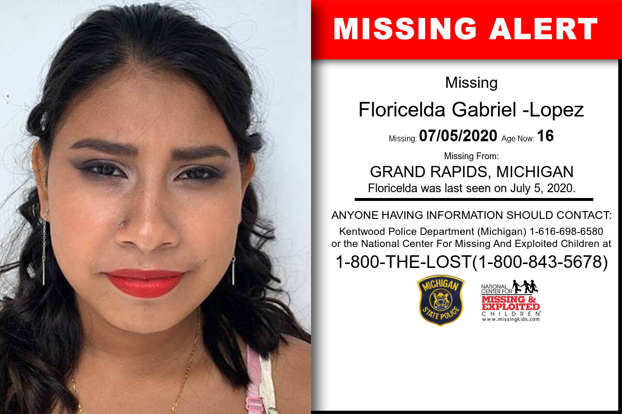 Floricelda_Gabriel_-Lopez missing in Michigan