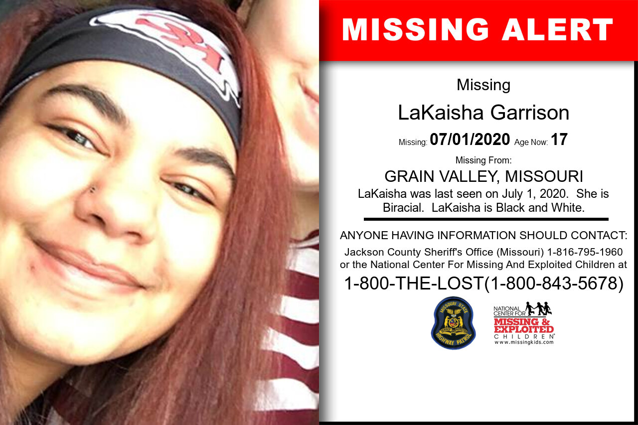 LaKaisha_Garrison missing in Missouri